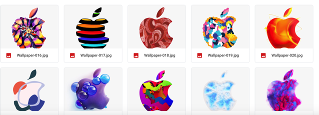 Download All 371 Apple Logos from New York Event as iPhone