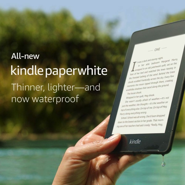 New amazon kindle paperwhite