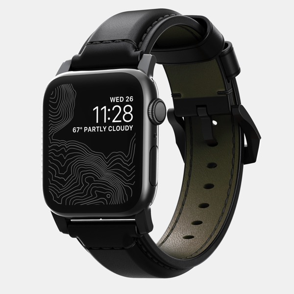 Nomad Launches Shell Cordovan Leather Strap for Apple Watch