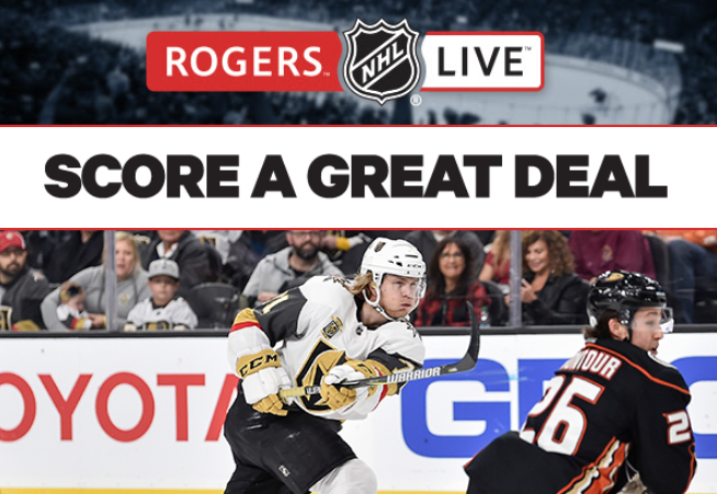 Rogers nhl gamecenter live 2018 2019