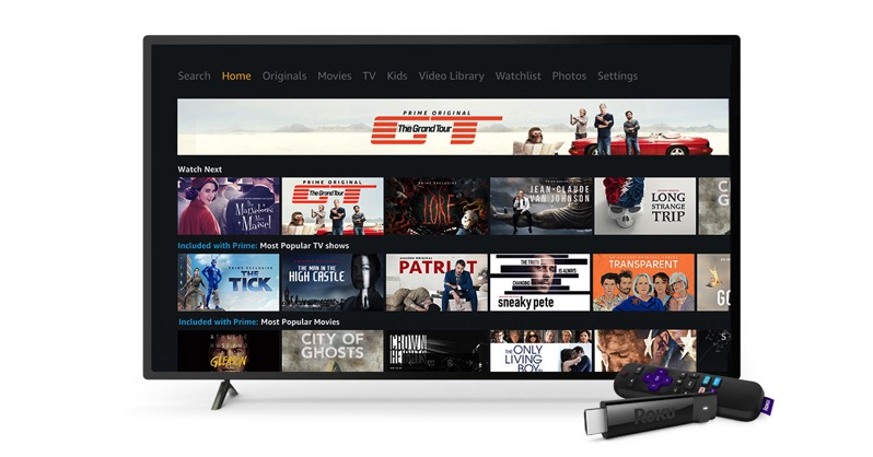 Roku amazon prime video