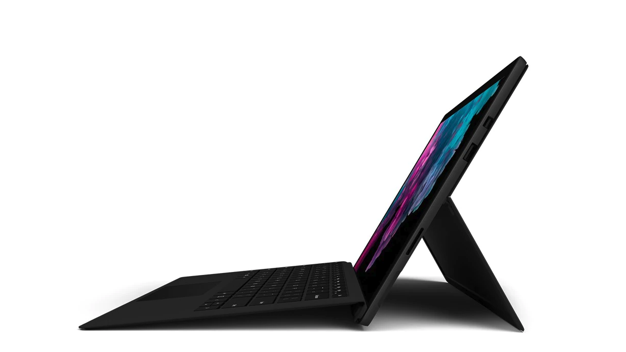 Black Surface accidentally leaked by Microsoft