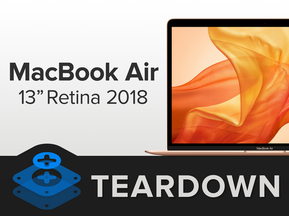 2018 macbook air teardown