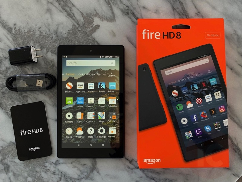 Image result for Amazon Fire HD 8 (2018)