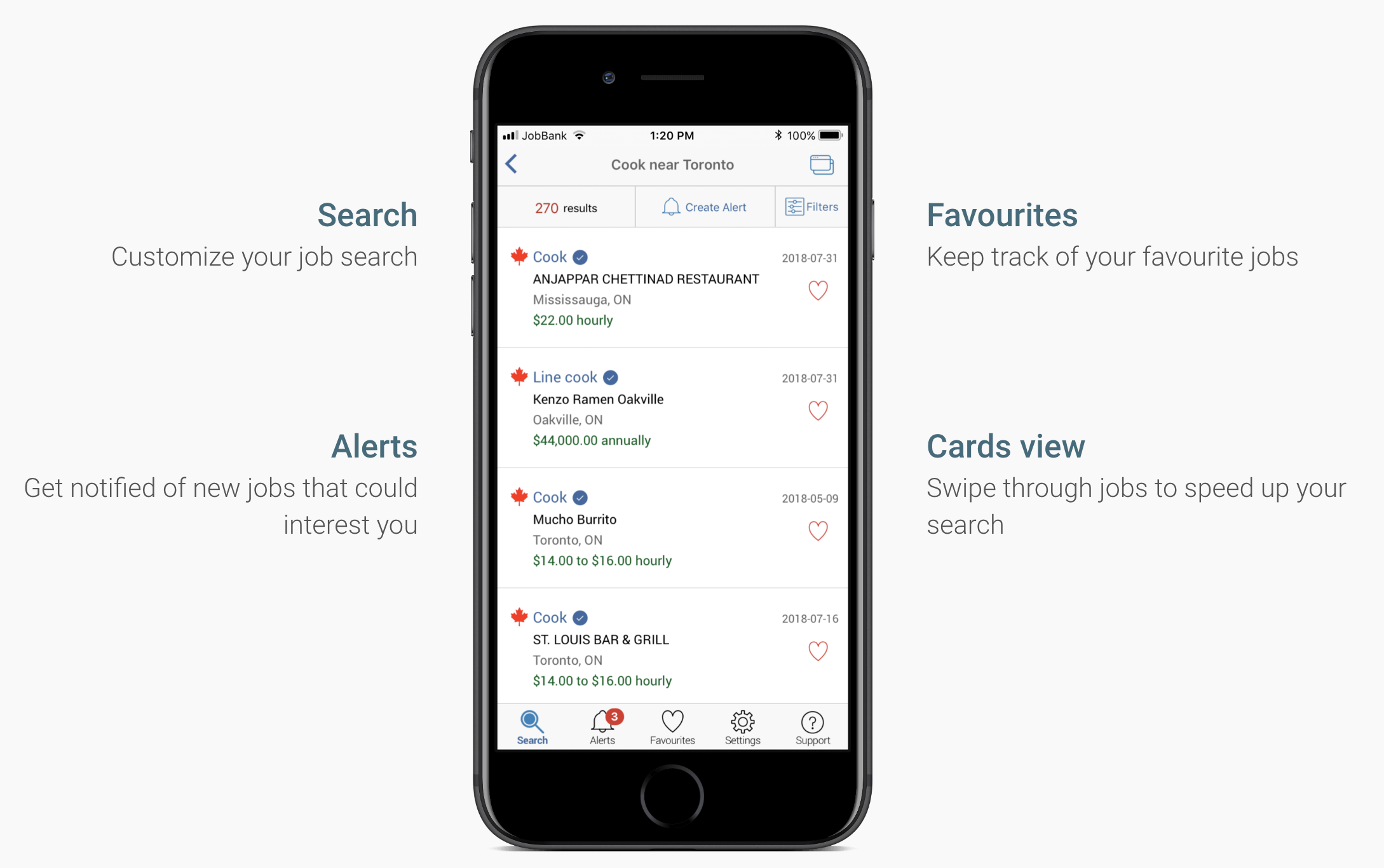 How to Look for a Job in Canada: Use the New Job Bank App by the Federal Government