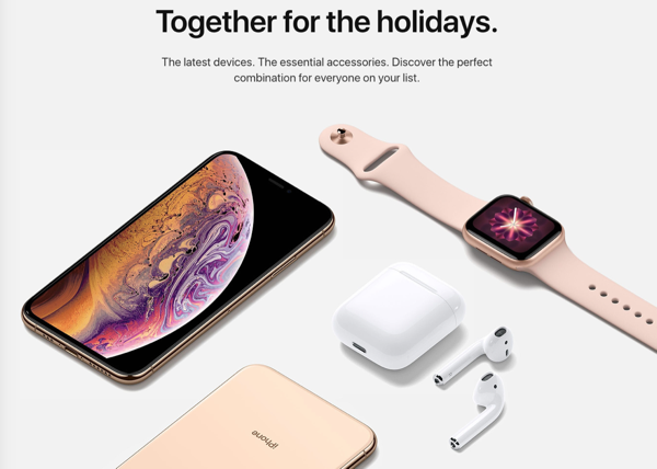 Apple 2018 holiday gift guide