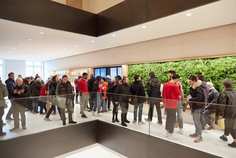 Apple champs elysees renewable energy 11182018