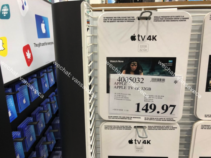 Costco Clearance: 32GB Apple TV 4K on Sale for $149 97, 35