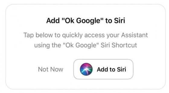 Google Assistant for iOS Gets Support for Siri Shortcuts [u]