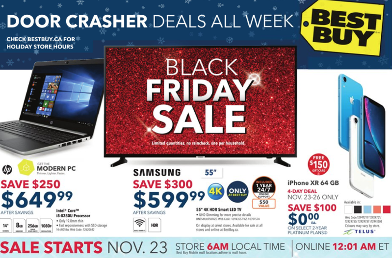best buy black friday 2018 canada deals flyer reveals what s on sale