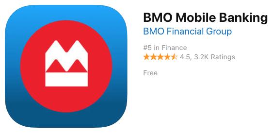 Bmo itunes app