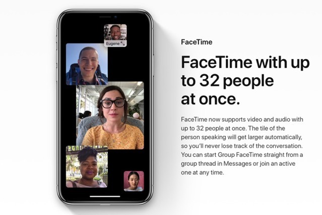 Facetime group