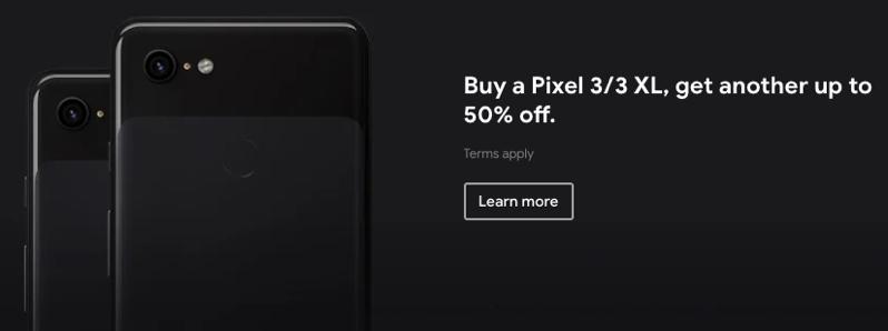Google Canada Black Friday Deals: Buy a Pixel 3/3 XL, Get