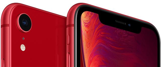 Iphone xr red select 201809 AV3