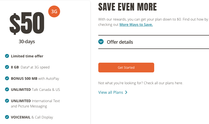 Public Mobile Offers $50/8.5GB 3G Plan with Unlimited ...