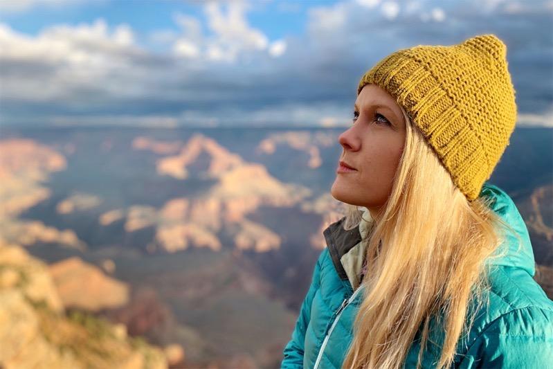 Shot on iphonexr austin mann portrait woman with hat 11142018