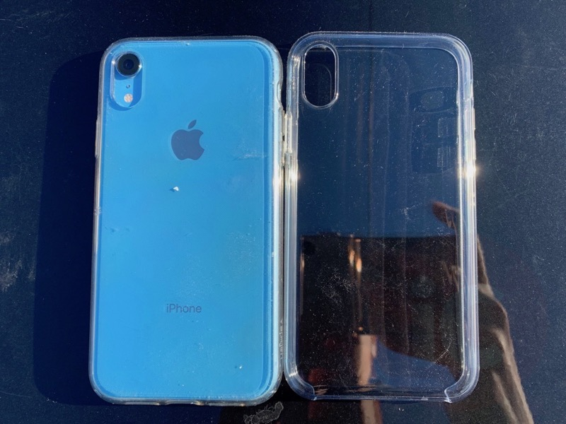 best sneakers e2461 3f9d7 Apple's iPhone XR Clear Case Review: Here's What $55 Gets You ...