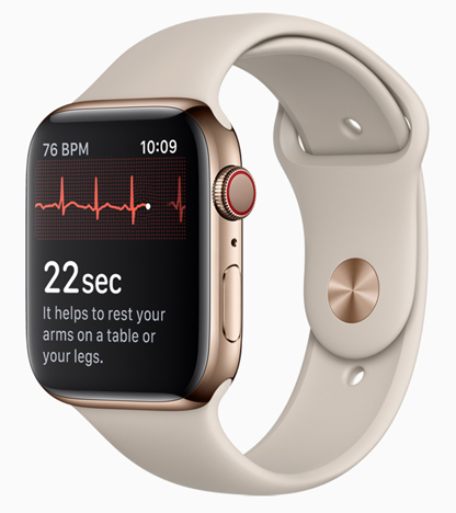 Apple Launching ECG App for Apple Watch Series 4 in Canada Today