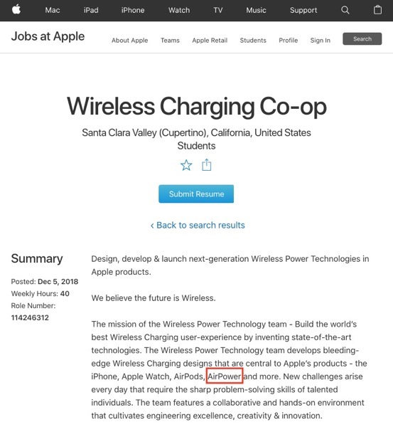 Airpower job listing