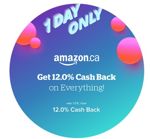 Amazon 12 cash back