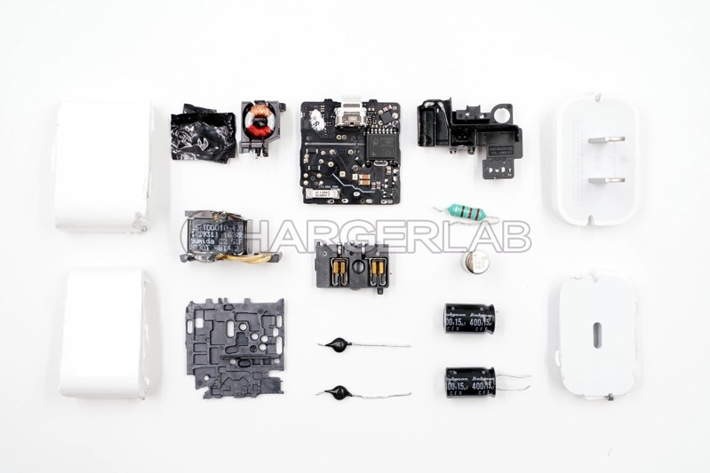 Apple 18w charger teardown