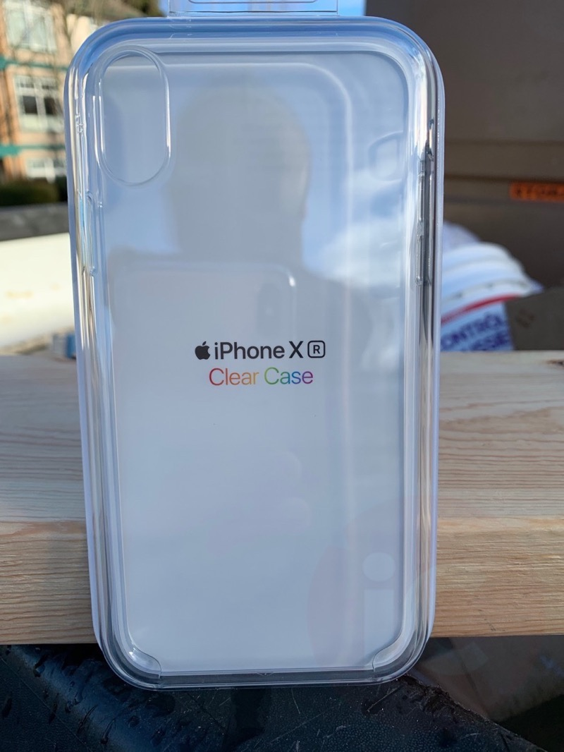 Iphone xr clear case review