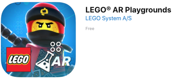 LEGO AR Playgrounds for iOS Launches in the App Store with Ninjago Theme
