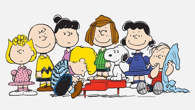 Charlie Brown, Snoopy and the 'Peanuts' crew headed to Apple