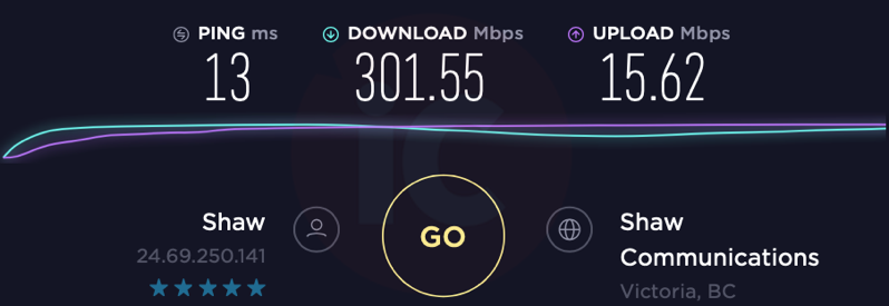Shaw internet 300 upgrade