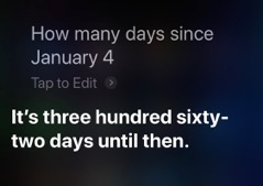 20190107 Siri days since partial date this year