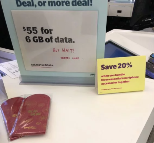 $55 6GB plan koodo virgin