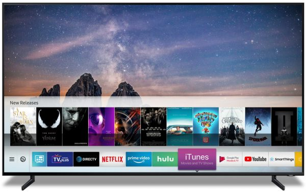 Samsung TV iTunes Movies and TV shows 600x381