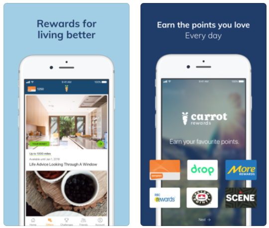 Carrot rewards ios
