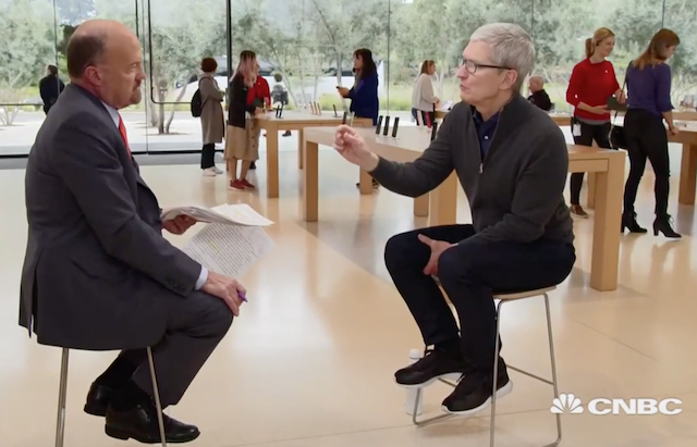 Tim Cook: new Apple services will arrive year