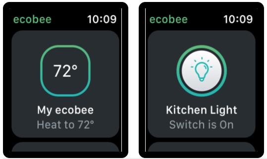 Ecobee apple watch 2