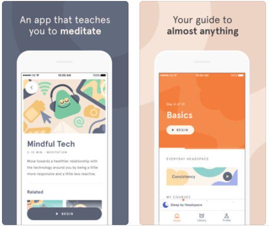 Headspace ios app