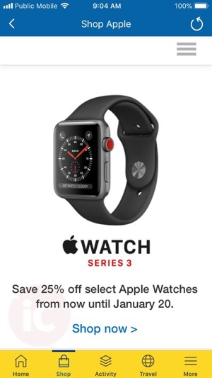Rbc rewards apple watch