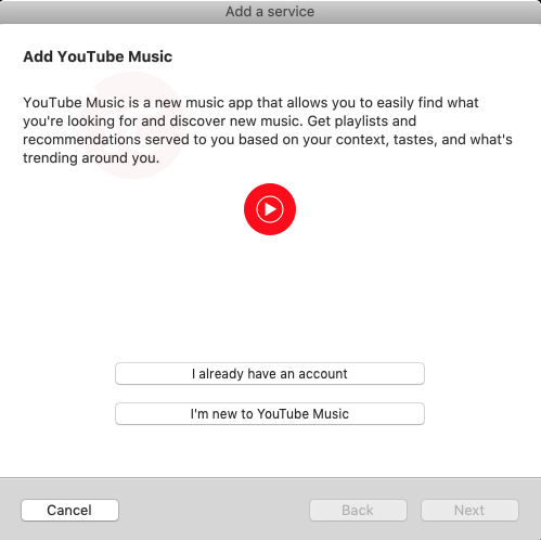 Adding You Tube Music to Sonos on Mac