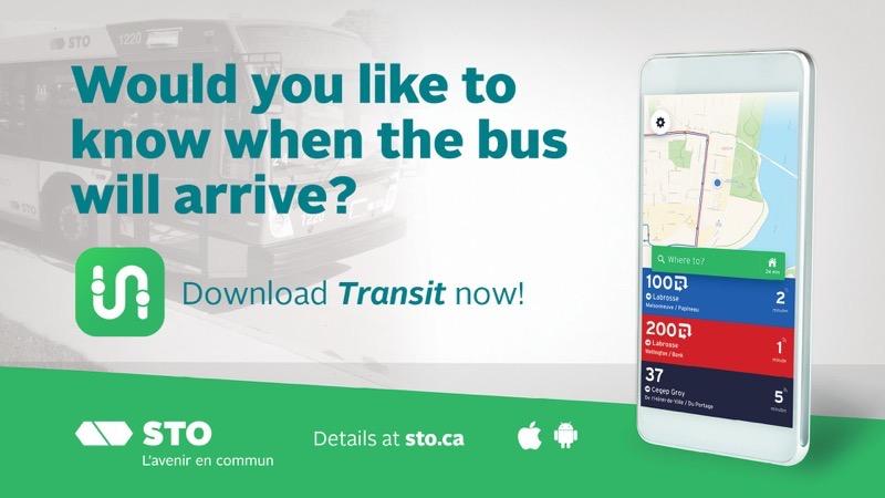 Sto transit app