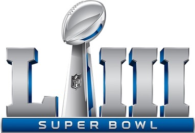 Super Bowl LIII logo 1