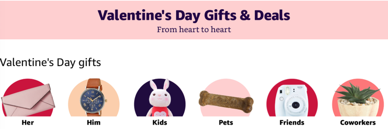 Amazon valentine s day