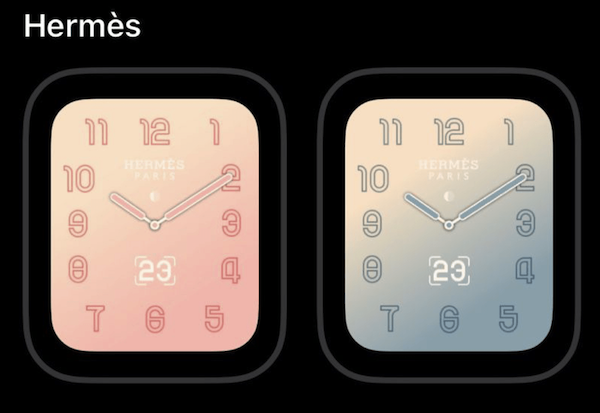 watchOS 5.2 to Bring Exclusive New Watch Faces for Apple Watch Hermès - iPhone in Canada