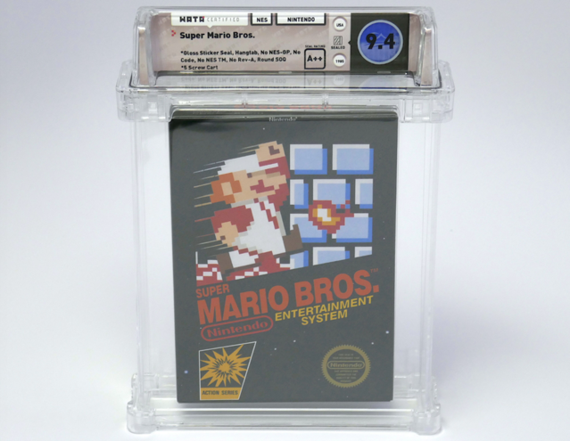 Early Copy of Super Mario Bros. Sells for Record-Setting $100150
