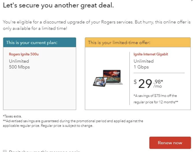 Rogers home internet 1gbps 29
