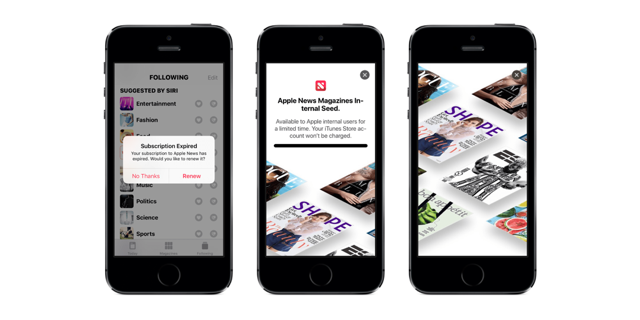 Apple News subscription1