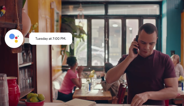 Google Duplex assistant is coming to more states and restaurants