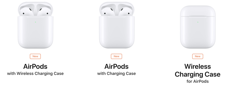 Airpods 2 wireless charging case