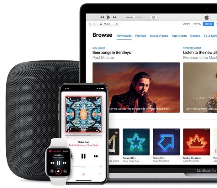 Apple music march 2019