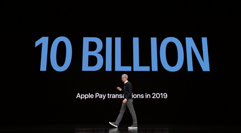 Apple pay 10 billion