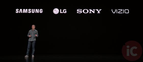 Apple tv app samsung LG sony Vizio